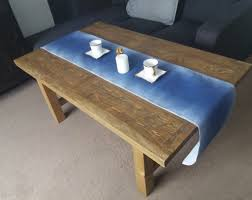 rustic solid wood coffee table ex display in arnold