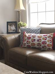 Living Room Decor For Easter No Sew Easter Pillow Made Of Kitchen Towels Casa Watkins Living