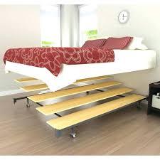 Folding Air Bed Frame Folding Air Bed Frame Airbed Home Delightful Coleman