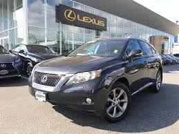 lexus is for sale bc used 2010 lexus rx 350 sport pkg for sale in surrey british