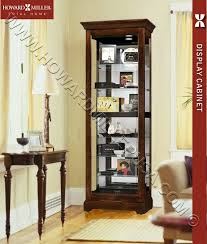 cherry curio cabinets cheap cherry curio cabinet sliding door martindale 680469