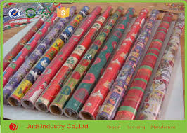 rolls of wrapping paper metallic wrapping paper roll with bows decorative