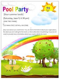 party printable invitation templates