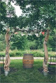 wedding arches decorated with burlap 7 beautiful wedding arches