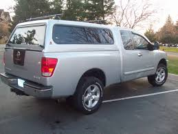 nissan titan extended cab nissan titan forum view single post silver leer topper for a