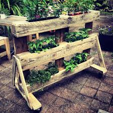 Building Patio Furniture With Pallets - 25 inspiring diy pallet planter ideas