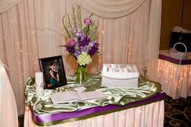 Decoration Tables by Guest Book Table Decorations Share Wedding Guest Book Table