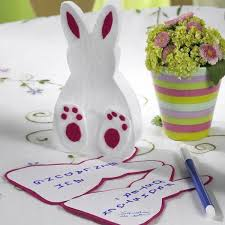 easter rabbits decorations 10 easy easter bunny crafts and handmade table decoration ideas