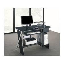vente bureau informatique vente unique bureau informatique pascal 1 tiroir verre