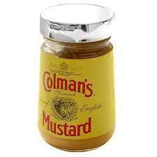 coleman s mustard silver colmans mustard lid