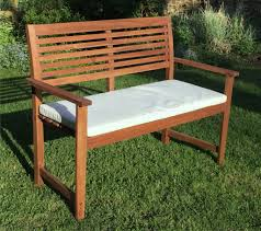 malmo 2 seat hardwood garden bench 1 2 price sale now on your
