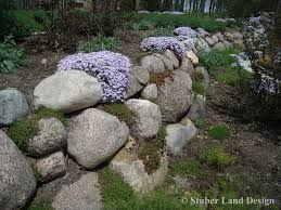 Rock Garden Plan by Piles Or Large Landscape Rocks For Beautiful Gardens With Green