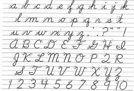 cursive fonts cursive letters
