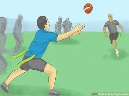 Kids Playing Backyard Football 5 Ways To Play Flag Football Wikihow
