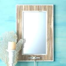 themed mirror themed vanity mirrors nautical wall lend a touch of charm to