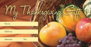 thanks to the lord thanksgiving offering envelope quantity per