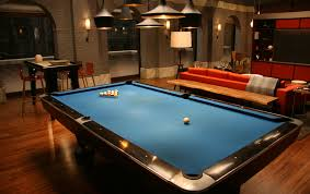 Pool Table In Living Room Chuck Bass Loft Gossip Serie Tv 2nd View Living Family