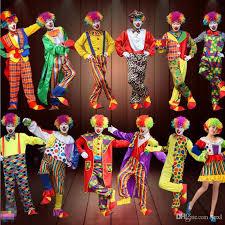 Clown Costumes 2017 New Clown Costume Amusement Park Performance Clothing