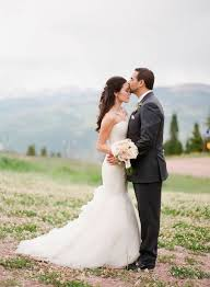 colorado weddings beautiful mountaintop colorado wedding modwedding