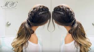 hairstyles with one elastic trendy braid based hairstyles for after your workout session