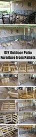 Pallet Patio Furniture Ideas by Best 25 Pallet Deck Furniture Ideas On Pinterest Pallet Patio