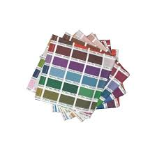 pantone coated color chart 1 yard cocktail napkins by