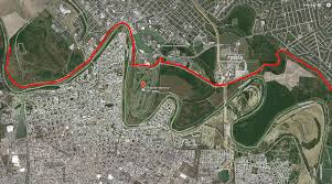 Us And Mexico Map Fence Protecting U S Mexico Border Puts Popular Golf Course Out
