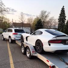 dodge viper fuel consumption jeep fuel economy suffers if you tow a dodge viper acr instead of