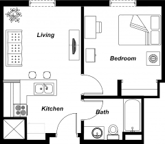 500 sq ft apartment floor plan 500 sq ft house plans in