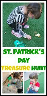 backyard treasure hunt st patrick s day treasure hunt mess for less