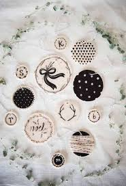 monochrome ornaments diy clay ornaments