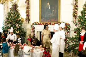White House Dog Christmas Decorations by Obamas Deck The White House Halls