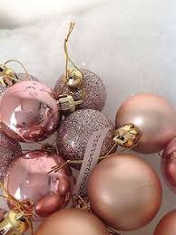 40 gold champagne copper tree baubles