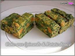 douce cuisine cake aux epinards patate douce cuisine pop recettes végétariennes