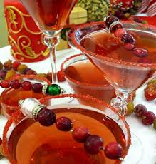 Punch Our Favorite Martini Recipes Cranberry Spiced Martini S Drinks For The Holidays Drinks