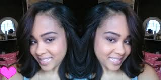 which hair is better for sew in bob cut style my sew in weave bob hair extensions protective