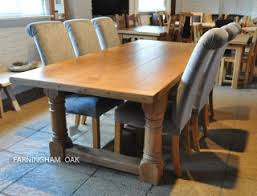 Solid Oak Dining Table Picture Foto Car Templates Fotos Oak Dining Table