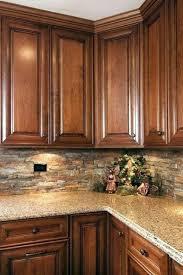 kitchen backsplash cherry cabinets backsplash with cherry cabinets inspiration ideas kitchen cherry