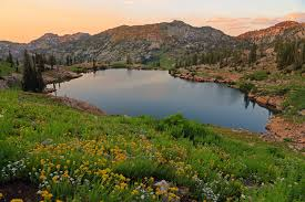 cecret lake hiking trail utah com