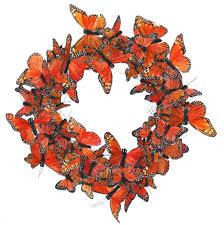 whimsical spring forsythia wreath jenna burger monarch butterfly wreath table centerpiece wreaths centerpieces