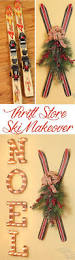 painted thrift store ski makeover the kim six fix
