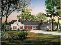 ranch farmhouse plans built in executive ranch house plans with classic look house