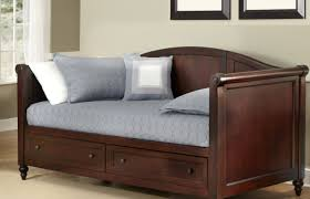 daybed furniture white wooden daybed with drawers underneath and