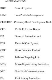 bureau of financial institutions interest rates and loan portfolio performance in commercial pdf