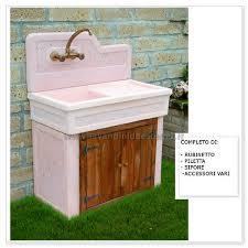 lavelli esterno lavabo da esterno monviso aq7000ma lavandini da esterno