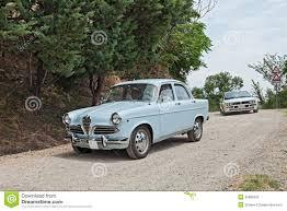 vintage alfa romeo vintage italian car alfa romeo giulietta editorial image image