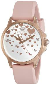 juicy couture analog silver dial women u0027s watch 1901450 inspiring