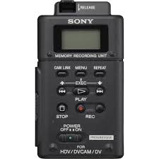 sony hvr mrc1 memory recording unit hvr mrc1k b u0026h photo video