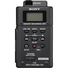 sony hvr mrc1 memory recording unit hvr mrc1k b u0026h photo video