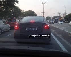 nissan cars in malaysia may spyshots 2014 nissan teana sighted in rawang